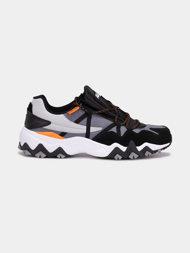 TRAIL-R CB Sneakers with mix of textures - 1