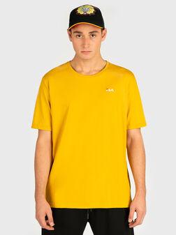 Памучна тениска с лого - 1