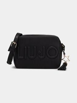 Кросбоди чанта с лого висулка - 1