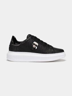 KAPRI Sneakers with embossed logo print - 1