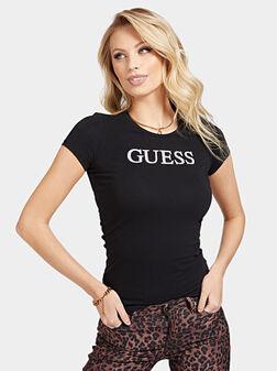 Тениска MIRIANA в черен цвят - 1