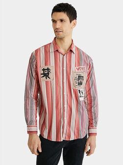 Cotton shirt patch messages - 1