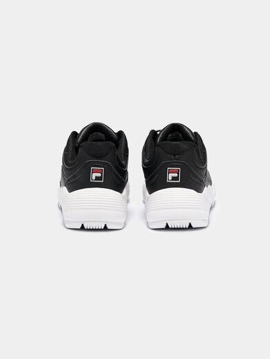 OVERTAKE Fully black sneakers  - 4