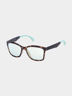 sun glasses with blue accents - 1