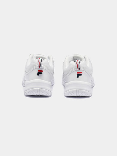 STRADA F White sneakers with glossy finish - 2