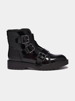 WENDY Boots with accent straps - 1