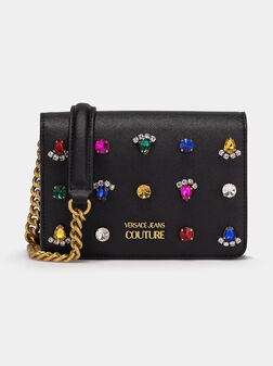 Crossbody bag with gemstones - 1
