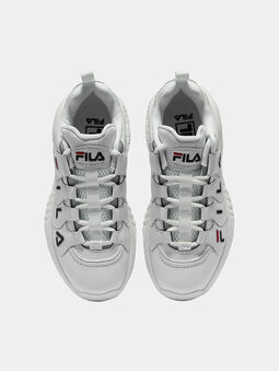 COUNTDOWN LOW White Sneakers - 5