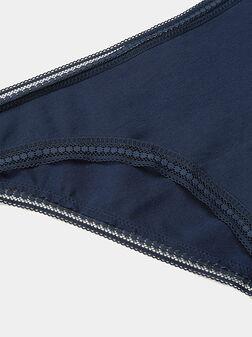 Бикини ECO COTTON в син цвят - 1