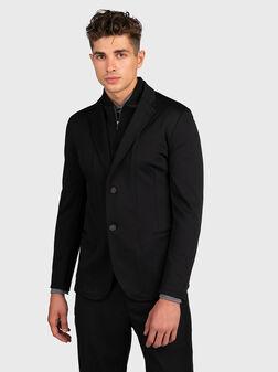 Черно спортно сако - 1