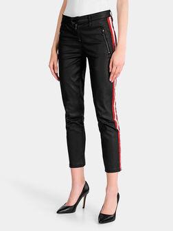 Панталон с промазан ефект - 1