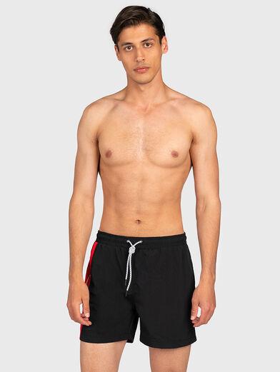 YAGO Swim shorts with contrasting insert - 1
