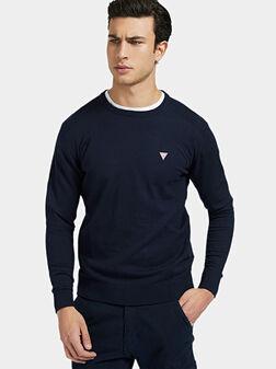 Пуловер JARRET с текстурирани детайли - 1