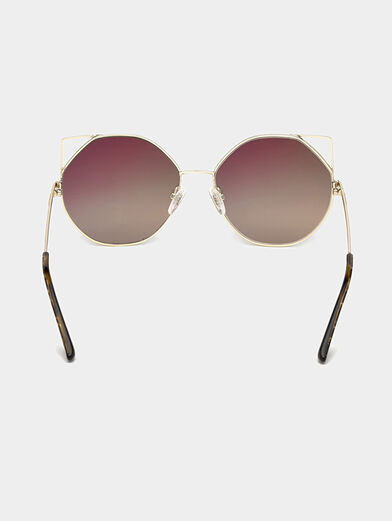 Gold color sunglasses - 4