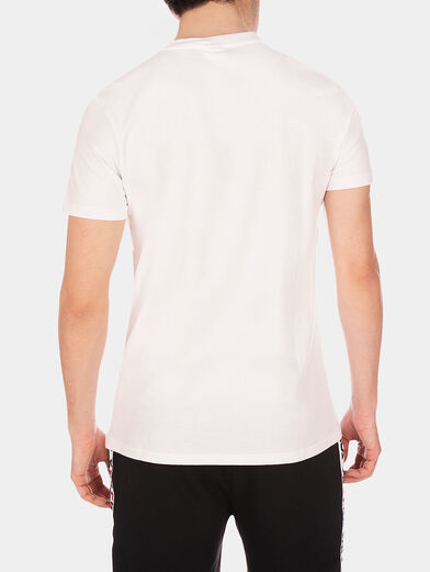 Black EVAN T-shirt with logo accent - 3