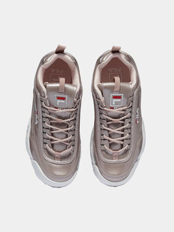 DISRUPTOR M LOW Sneakers in gold color - 5