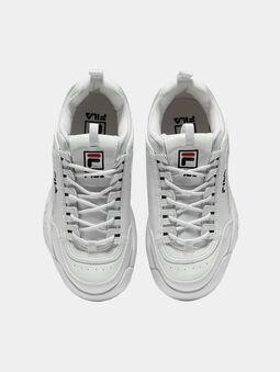 DISRUPTOR P Patent look black sneakers - 5