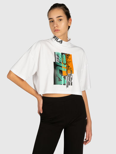 ABRIL Cropped tee - 1