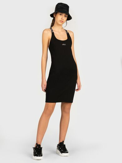 JAHEL Dress with branded straps - 2