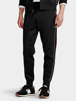 Черен спортен панталон - 1