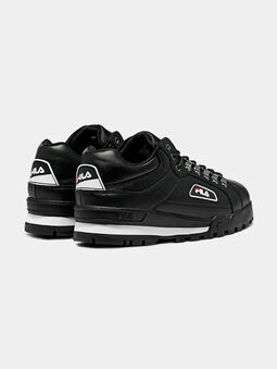 TRAILBLAZER L Black sneakers with chunky sole - 3