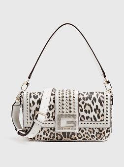 Чанта с капси и животински принт BLING - 1