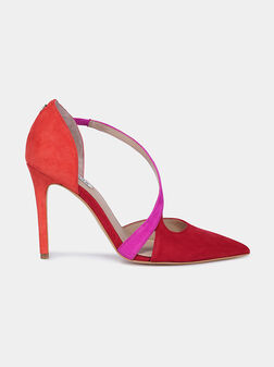 GINETTA Suede court shoes - 1