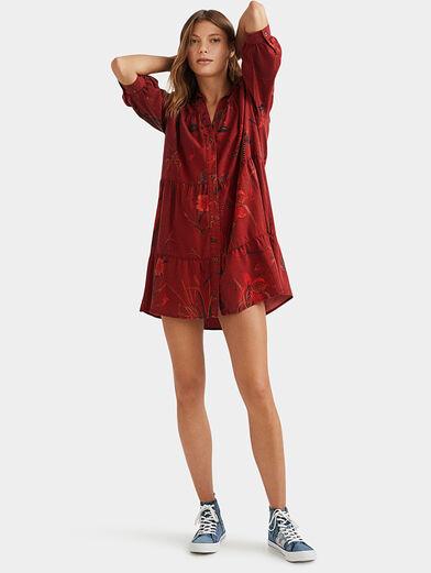 SEVILLA Dress with animal motifs - 2