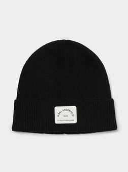 Плетена шапка Rue St Guillaume Beanie - 1