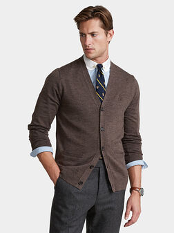 Cardigan with buttons - 1