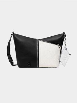 Кросбоди чанта с лого детайл KATYA - 1