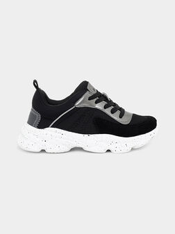 Sneakers with metallic details - 1